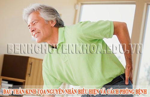 Đau thần kinh tọa nguyên nhân biểu hiện và cách phòng bệnh