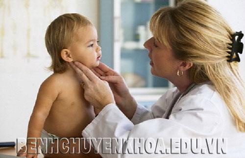 Hỏi đáp Y Dược - Hạch góc hàm ở trẻ?