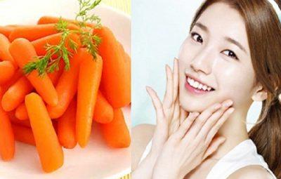 Trẻ hoá da bằng cà rốt được rất nhiều người áp dụng