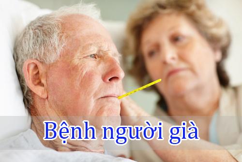 Các bệnh lão khoa thường gặp ở người cao tuổi