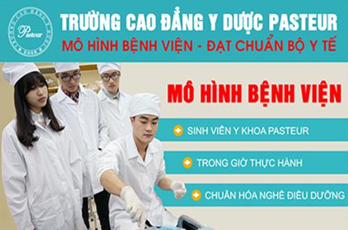 Mô hình đào tạo Trường Cao đẳng Y Dược Pasteur
