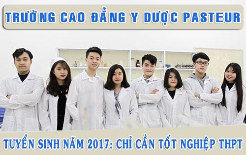 Tuyển sinh Cao dẳng Dược Hà Nội năm 2017