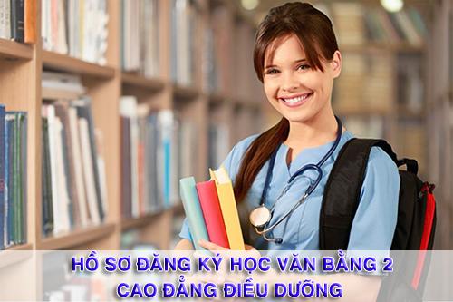 Hồ sơ đăng ký học văn bằng 2 Cao đẳng điều dưỡng