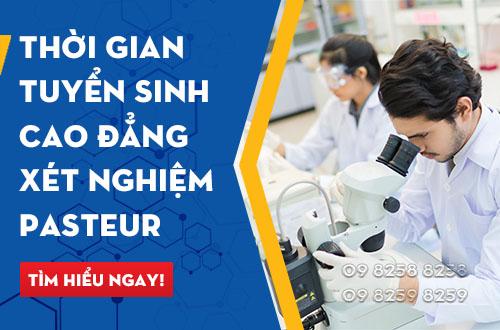 Xét tuyển Cao đẳng Xét nghiệm - Trường Cao đẳng Y Dược Pasteur năm 2017