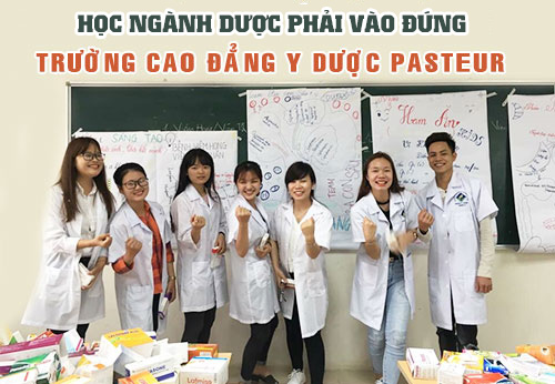 Trường Cao đẳng Y Dược Pasteur là đơn vị đào tạo chuyên về thực hành