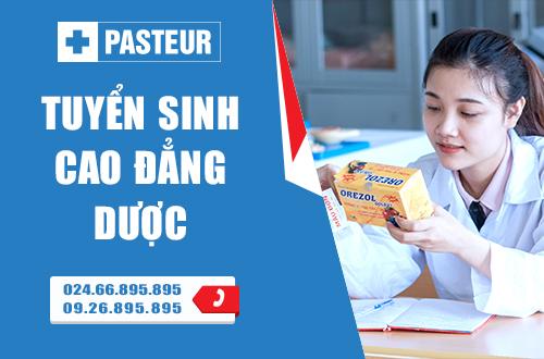 Trường Cao đẳng Y Dược Pasteur tuyển sinh liên thông Cao đẳng Dược năm 2017