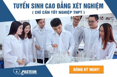 Địa chỉ nộp hồ sơ học Cao đẳng Xét nghiệm tại Hà Nội năm 2017