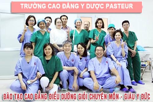 Trường Cao đẳng Y Dược Pasteur đào tạo Điều dưỡng giỏi chuyên môn, giàu y đức
