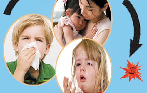 Cách giúp trẻ phòng tránh bệnh đường hô hấp