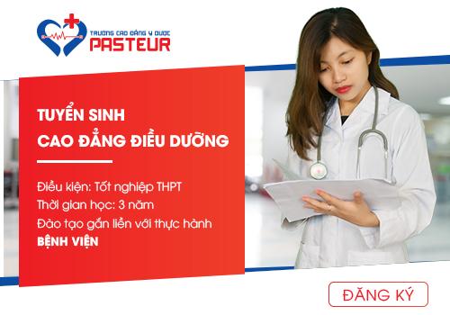 Trường Cao đẳng Y Dược Pasteur tuyển sinh Cao đẳng Điều dưỡng 2019