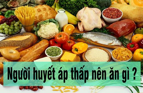 Những thực phẩm dành cho người bị huyết áp thấp