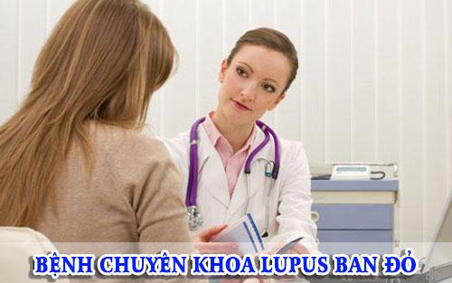 Bệnh chuyên khoa Lupus ban đỏ