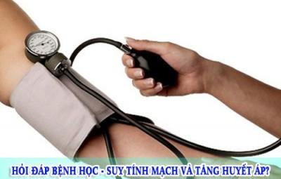 Hỏi đáp bệnh học - Suy tính mạch và tăng huyết áp