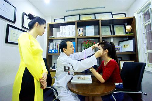 Nâng mũi tùy thuộc vào tay nghề Bác sĩ