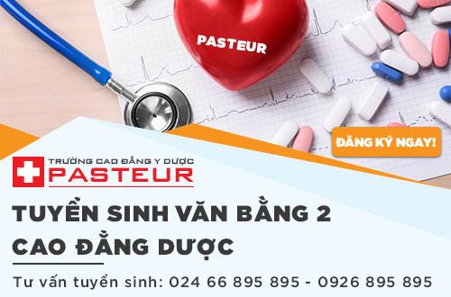 Trường Cao đẳng Y Dược Pasteur tuyển sinh VB2 Cao đẳng Dược chính quy