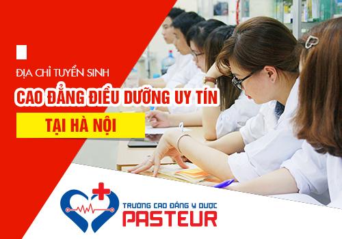 Tuyển sinh Cao đẳng điều dưỡng Hà Nội năm 2019