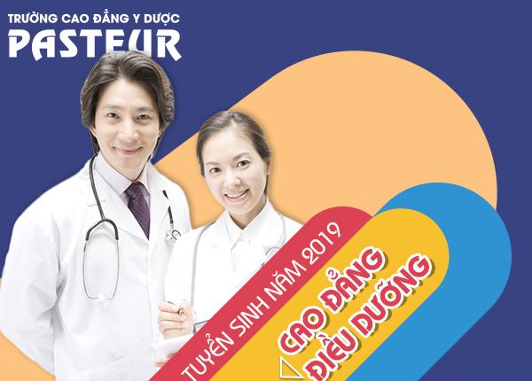 Trường Cao đẳng Y Dược Pasteur tuyển sinh Cao đẳng Điều dưỡng