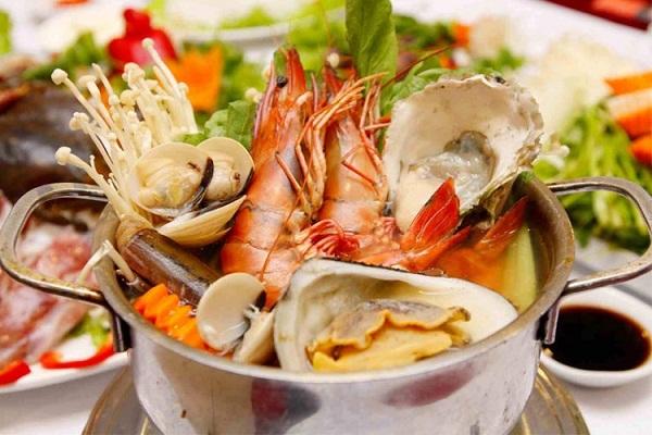 Không nên ăn quá nhiều hải sản