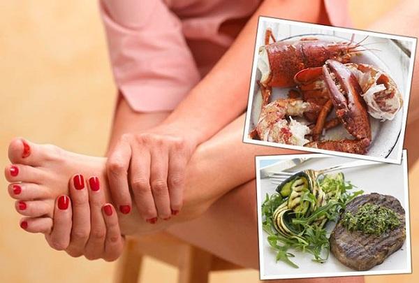 8 món ăn ngày Tết người bệnh xương khớp cần tránh