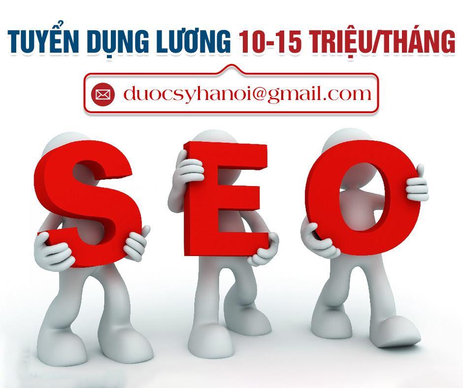 Tuyển dụng nhân viên Seo Marketing online - Content tại Hà Nội, Hồ Chí Minh